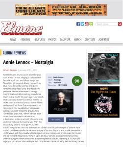 Elmore Magazine | Annie Lennox – Nostalgia
