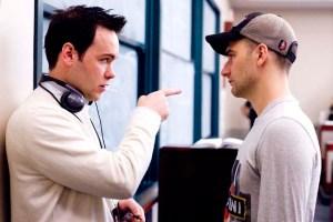 photo of Brunetti with Robert Luketic for CS mag