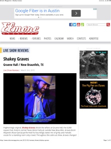 Elmore Magazine | Shakey Graves