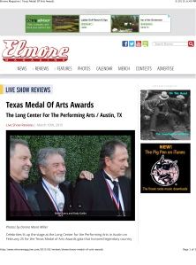 Elmore Magazine | Texas Medal Of Arts Awards