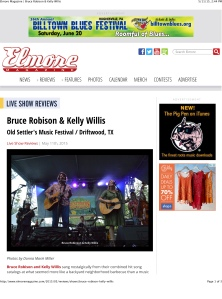 Elmore Magazine | Bruce Robison & Kelly Willis