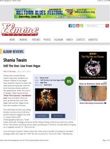 Elmore Magazine | Shania Twain