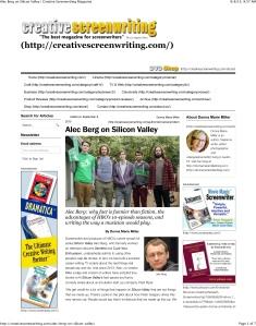 Alec Berg on Silicon Valley | Creative Screenwriting Magazine
