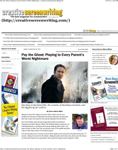 Pay the Ghost: Playing to Every Parent's Worst Nightmare | Cre