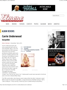 Elmore Magazine | Carrie Underwood