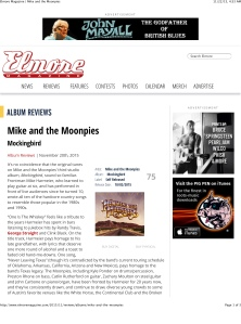 Elmore Magazine | Mike and the Moonpies