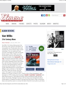 Elmore Magazine | Van Wilks