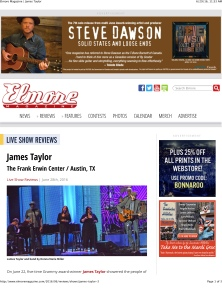 Elmore Magazine | James Taylor
