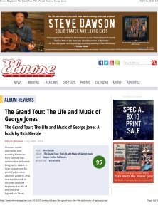 Elmore Magazine | The Grand Tour: The Life and Music of George J