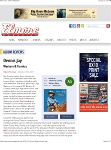 Dennis Jay – Elmore Magazine