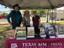 Boerne book fest with Ben and Christine